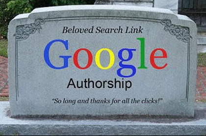 Google Authorship Is Dead