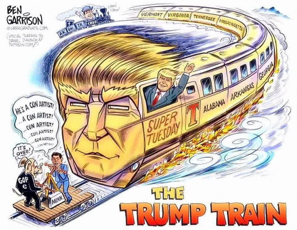 Are YOU On The TRUMP TRAIN To The Whitehouse