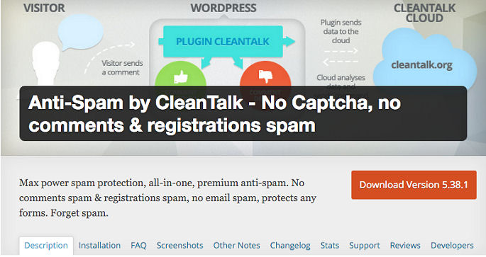 CleanTalk The Best Anti-Spam Solution For WordPress