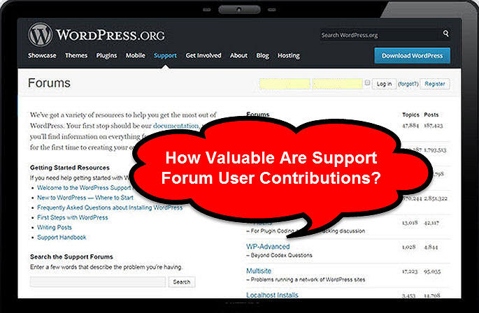 How Valuable Are Support Forum User Contributions?