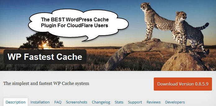 Best WordPress Cache Plugin CloudFlare