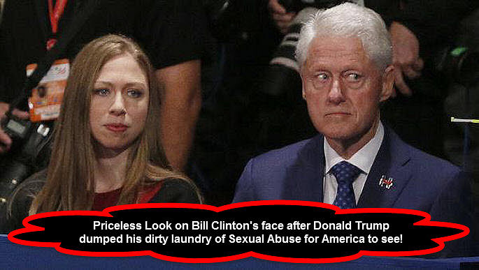 Bill Clinton Priceless Look