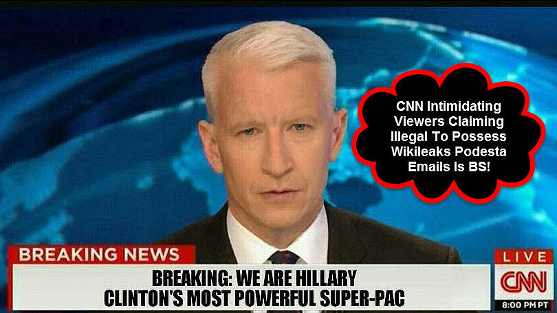 CNN Intimidating Viewers Podesta