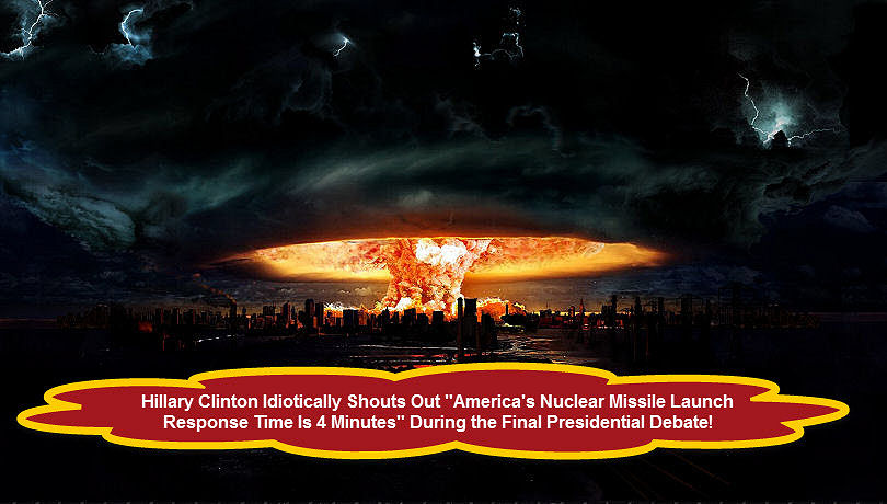 Hillary Clinton Nuclear Launch Response Time