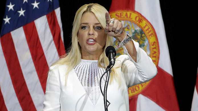 TBT Flip Flop Pam Bondi Trump Transition Team