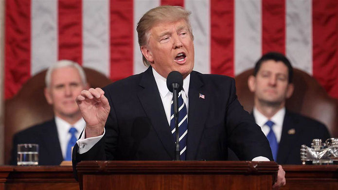 Donald J Trump Address To Congress