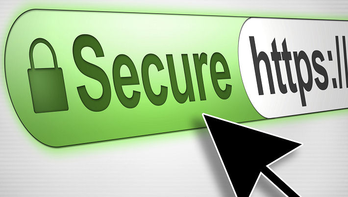 Secure SSL TLS Encrypted Website