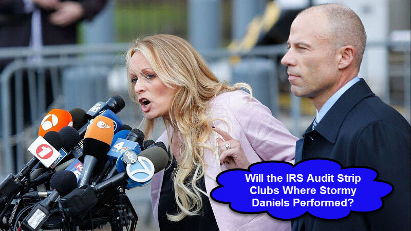 IRS To Audit Stormy Daniels Strip Clubs