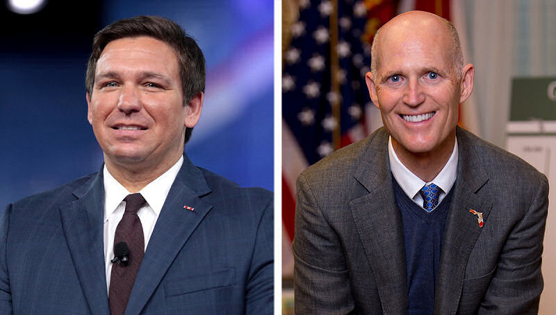 Rick Scott and Ron DeSantis MAGA FL