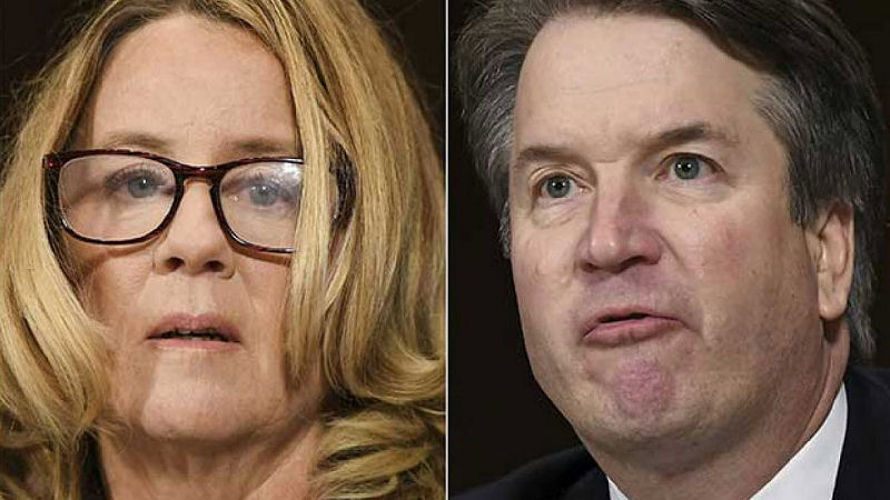 Christine Blasey Ford and Judge Brett Cavanaugh Testimony Democrat Smear Campaign