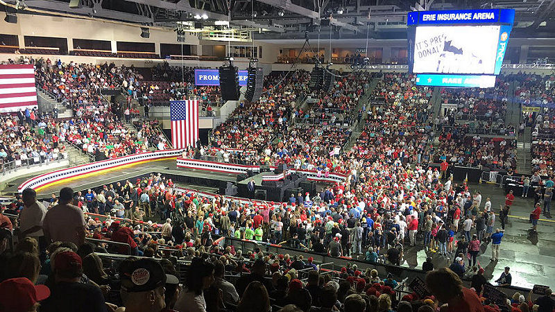 Trump Rally Erie PA