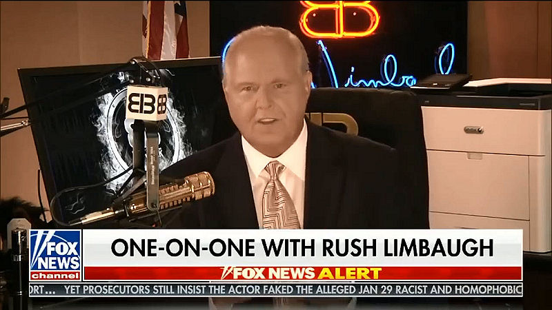 Rush Limbaugh with Sean Hannity