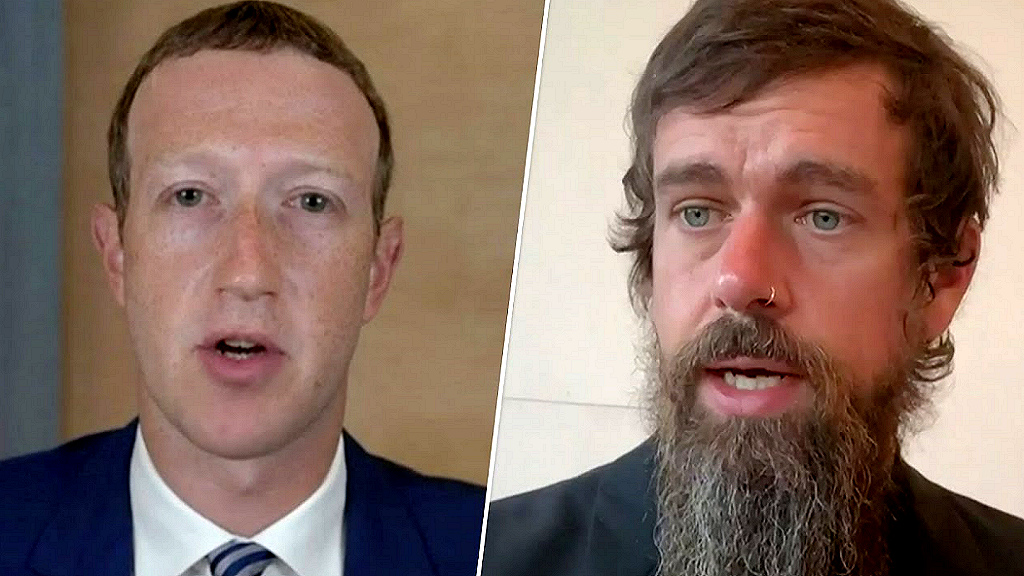 mark zuckerberg jack dorsey